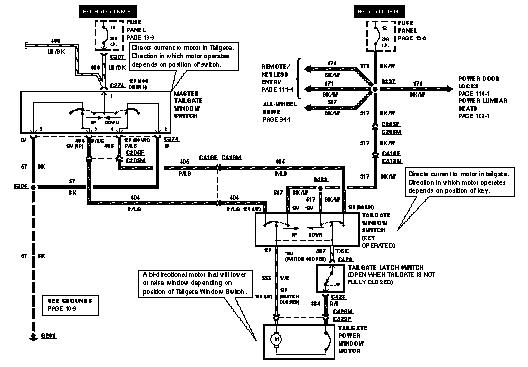 rear window not working 80 96 ford bronco 66 96 ford broncos rh broncozone com 96 ford bronco stereo wiring diagram 1996 ford bronco stereo wiring diagram