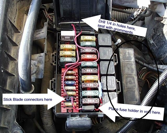 1995 bronco fuse  relay question - 80-96 ford bronco