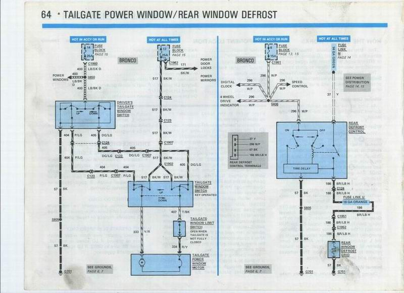 help me out  rear window regulator 80 96 ford bronco Ford Distributor Wiring Diagram