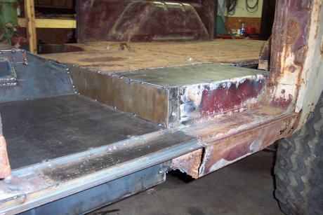 Rising Rust Floor Pans 66 77 Early Bronco 66 96 Ford