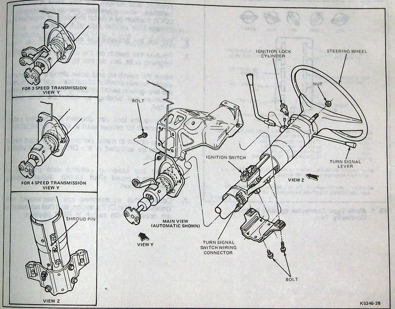 1995 ford f150 ignition switch wiring diagram